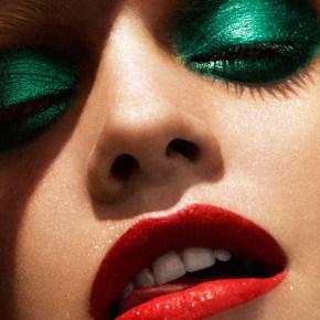 Идеи макияжа для маленького черного платья - 1_smoky-greens