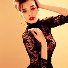 Идеи макияжа для маленького черного платья - 7_neutral-eye-red-lip