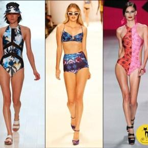 Тенденции купальных костюмов (купальников) — Лето 2014