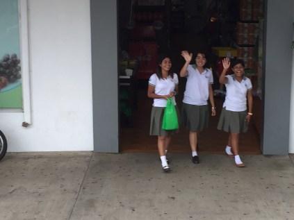Town.Schoolgirls