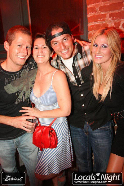 China Rose~ w/friends @ Wildcat, locals night Santa Barbara, CA, circa 2010