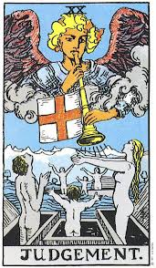 Judgment Rider Waite tarot
