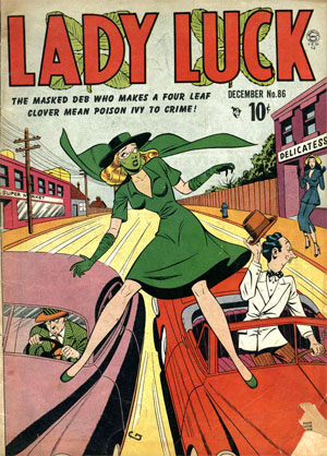 Lady Luck comic
