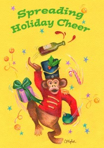 Holiday Cheer Monkey