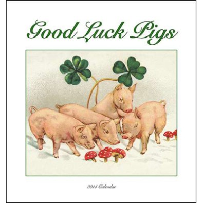 good luck pigs
