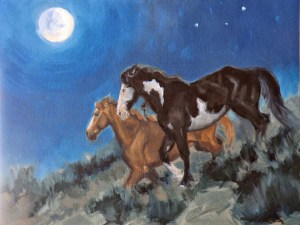 Full Moon Mustangs
