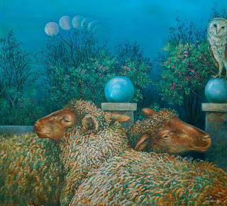 Sheepish Moon by Wendy Vaughn