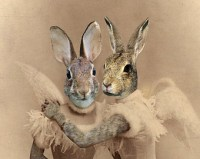 Steampunk Angel Bunny Sisters | Frankenkitty