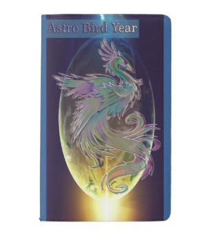 Astro Bird Year | notebook cover