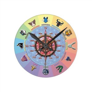 Lucky Dozen | wall clock