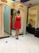 Celine's custom dress - complete!