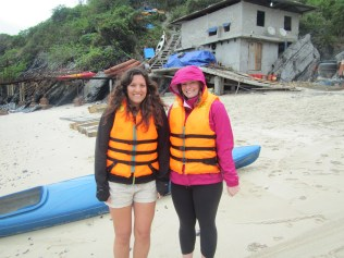 It's freezing, but we're going kayaking damnit!