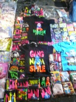Gangham style merch EVERYWHERE