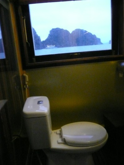Sweet view from the bathroom