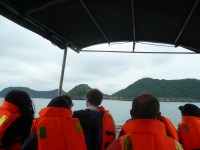 Water taxi to monkey island