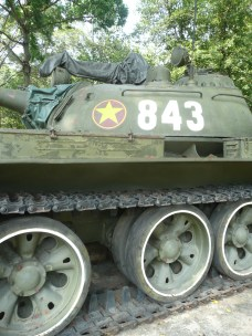 "Tank that ""liberated"" South Vietnam after the war"