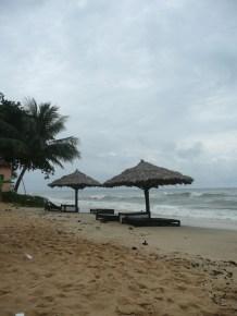 Beach behind my bungalow