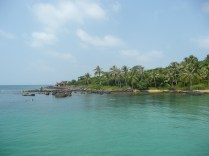 One of the snorkelling spots