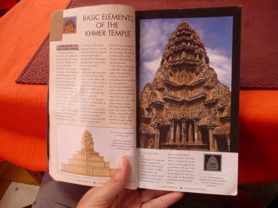 Reading up on Angkor Wat temples