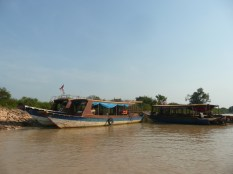 River boat ride to rural village