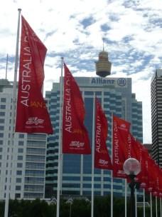 Australia Day banners