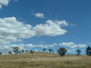 On the road to Melbourne
