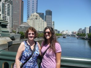 Mom and I in Melbourne