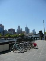 Bikes in the city