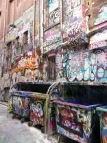 Dumpster street art