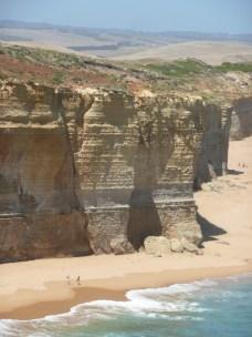 Enormous cliffs