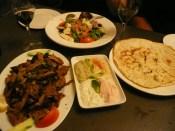 Greek food for dinner