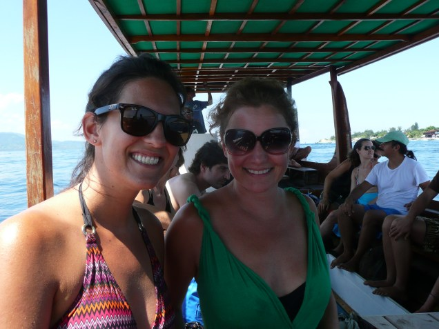 Michele and I going snorkelling