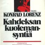 Lorenz, Konrad: Kahdeksan kuolemansyntiä
