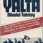 Tolstoy, Nikolai: The Victims of Yalta