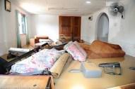 Kiulu 15 Januari 2014.Keadaan didalam sebuah rumah yang dilanda banjir di Kg. Kauluan.