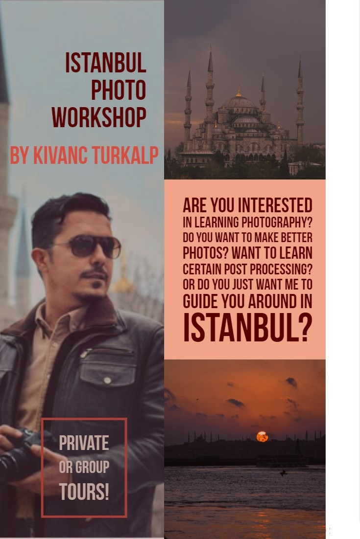 ISTANBUL PHOTO SHOOTING WORKSHOPS