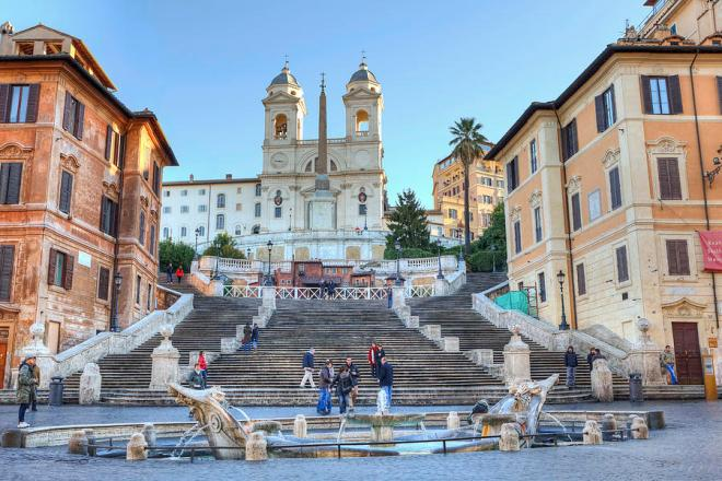 İspanyol Merdivenleri, Roma Fotoğrafları, Roma fotograflari, Roma'da gezilecek yerler