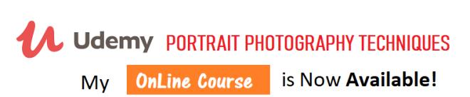 Online Portrait Photography Techniques Course