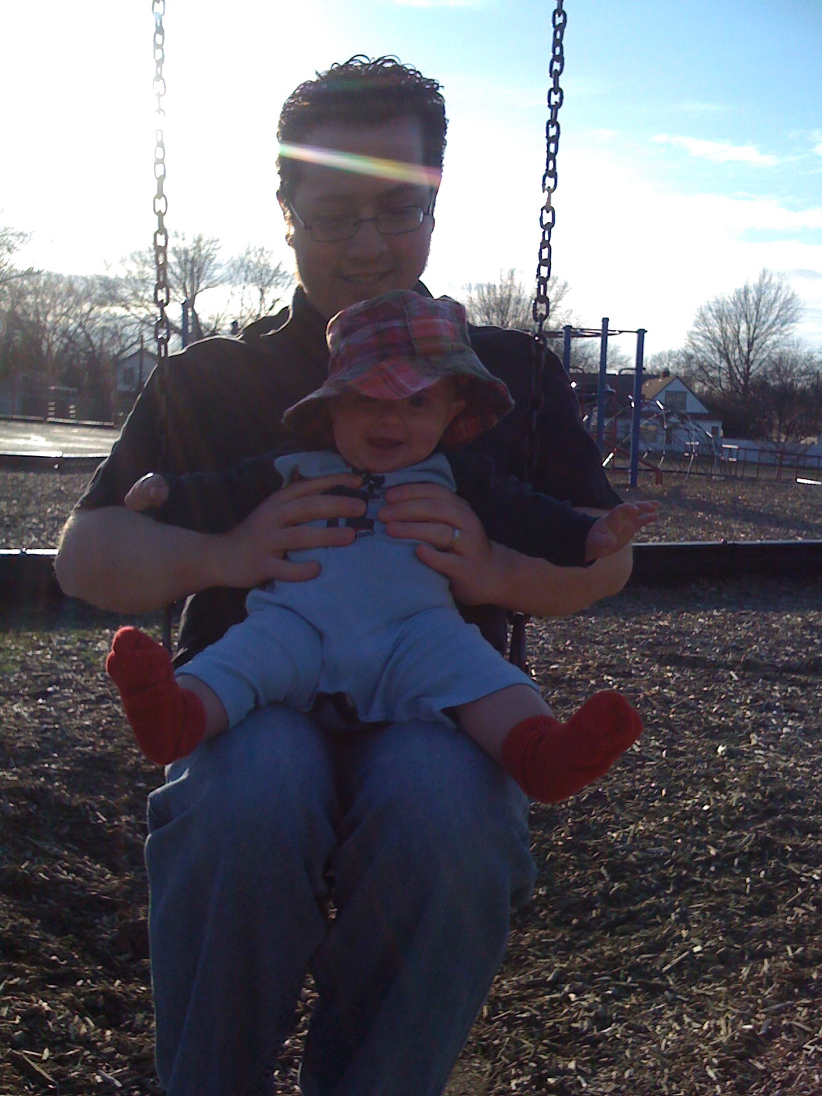 swinging-with-daddy