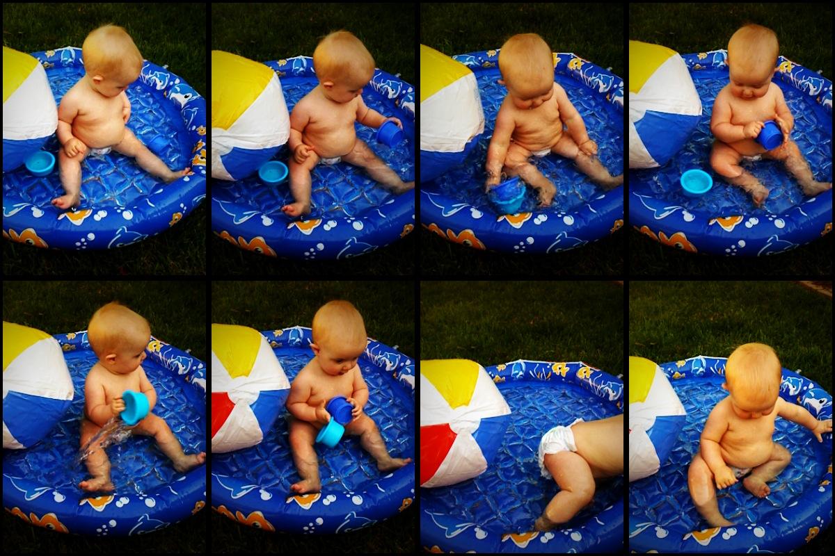 water play and splashing