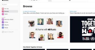 Apple Lance officiellement la version Web d'Apple Music