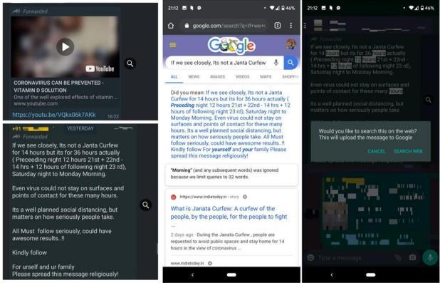 WhatsApp intègre des nouvelles limites pour lutter contre les Fake News