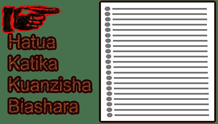 hatua muhimu katika kuanzisha biashara