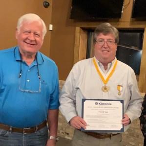 David Lee awarded Dr. Luis V. Amador Medallion Award.