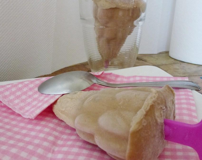 Esquimaux banane, purée de cacahuète