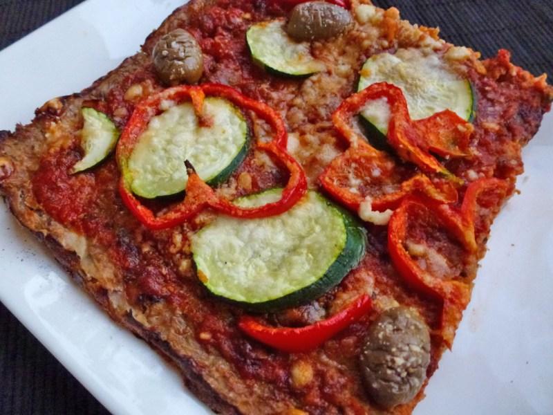 choux-fleur pizza