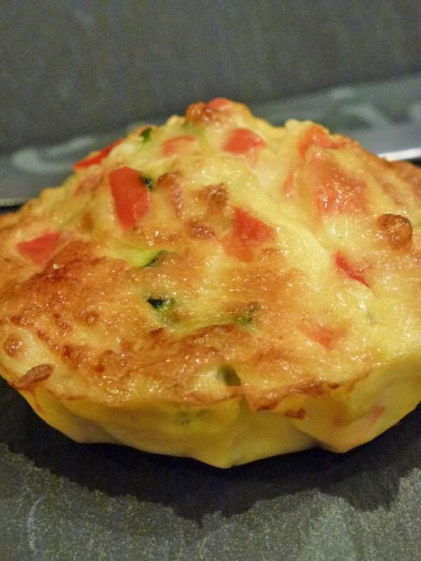 Kiwi-forme.net-mini flan de légumes au saumon
