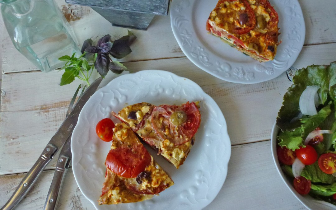 Fausse tarte provençale  (Sans pâte, sans céréales)
