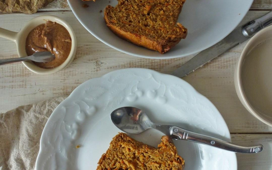 Pumpkin cake aux épices, revisité et à la farine de petit épeautre  (vegan, allégé )