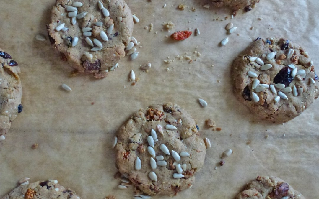 Cookies aux superfruits  ( vegan, sans gluten )